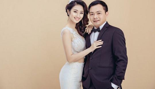 Hoa hậu Bản sắc Việt Thu Ngân lên xe hoa với Chủ tịch CLB FLC Thanh Hóa