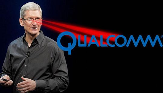 Kinh doanh không lành mạnh, Qualcomm bị Apple khởi kiện