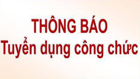 Tòa án nhân dân tỉnh Hà Tĩnh thông báo tuyển dụng và tiếp nhận hồ sơ dự tuyển