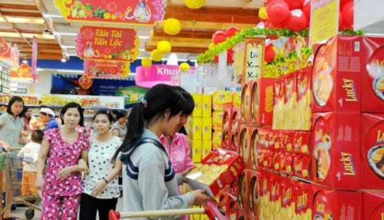 Hàng hóa Tết tại TP Hồ Chí Minh: 5 lần điều chỉnh