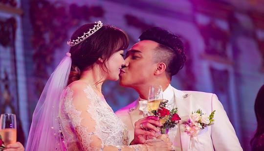 Những đám cưới đẹp hơn cả cổ tích của sao Việt năm 2016