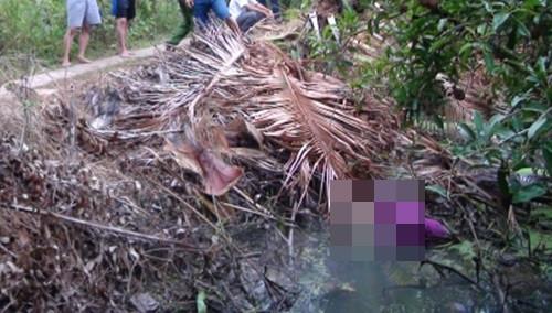 Giết chết bạn gái dìm xuống nước rồi uống thuốc sâu tự tử