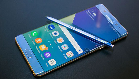 Nguyên nhân Galaxy Note 7 bốc cháy từ cơ quan thẩm quyền Hàn Quốc