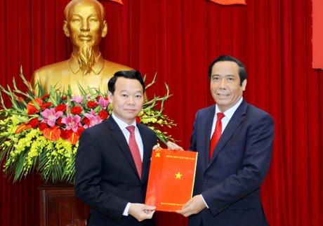 Triển khai Quyết định của Ban Bí thư về công tác cán bộ tại tỉnh Yên Bái