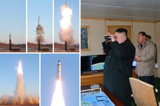 HĐBA LHQ họp khẩn sau vụ thử tên lửa của Triều Tiên