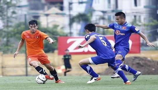 HLV Hoàng Anh Tuấn dự khán, U18 Việt Nam hòa U19 Vân Nam