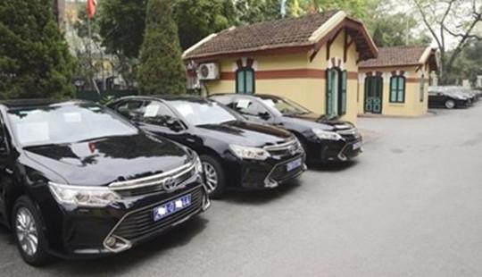 Hà Nội: Ban hành quyết định thí điểm khoán kinh phí sử dụng xe công