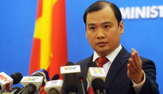 Việt Nam lên tiếng về việc Trung Quốc xây kho chứa tên lửa ở Biển Đông