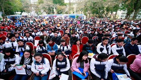 Khoảng 80 trường ĐH, CĐ tư vấn tuyển sinh tại Hà Nội