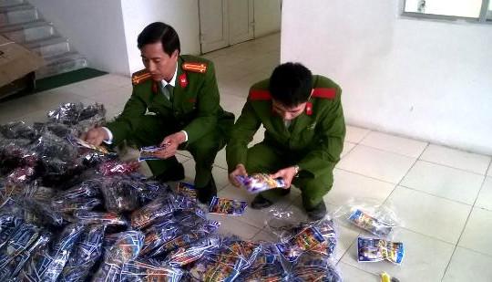 Thanh Hóa: Bắt giữ 3200 khẩu súng đồ chơi trẻ em