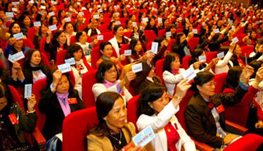 Đại hội đại biểu Phụ nữ toàn quốc lần thứ XII khai mạc vào ngày mai (7/3)