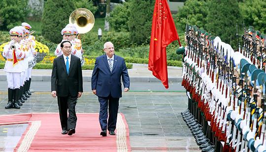 Làm sâu sắc hơn mối quan hệ hợp tác, hữu nghị Việt Nam-Israel