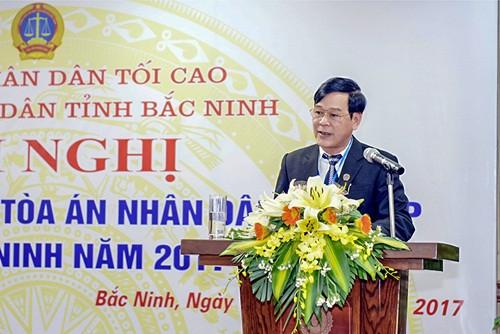 TAND TP. Bắc Ninh: Tăng cường áp dụng công nghệ thông tin trong các hoạt động
