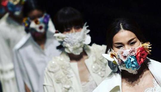 """Mê mẩn """"Em hoa"""" của NTK Công Trí trên sàn diễn Tokyo"""