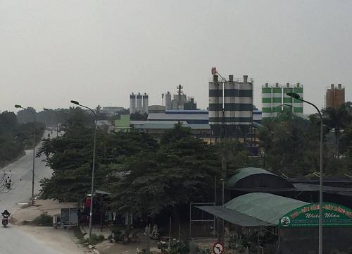 """Xã An Khánh (Hoài Đức): Dày đặc trạm trộn bê tông hoạt động trái phép """"hủy diệt"""" môi trường"""