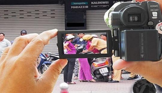 Bộ Công an bỏ nội dung cấm ghi âm, ghi hình ngụy trang