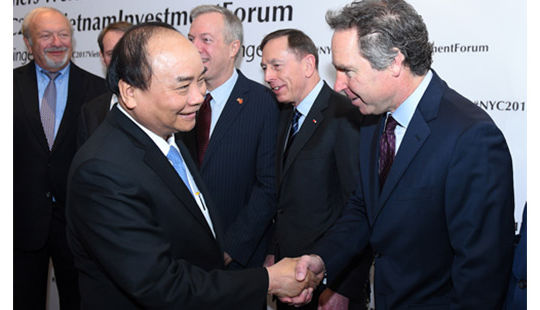 Thủ tướng: Việt Nam luôn chào đón và khuyến khích doanh nghiệp Hoa Kỳ đầu tư