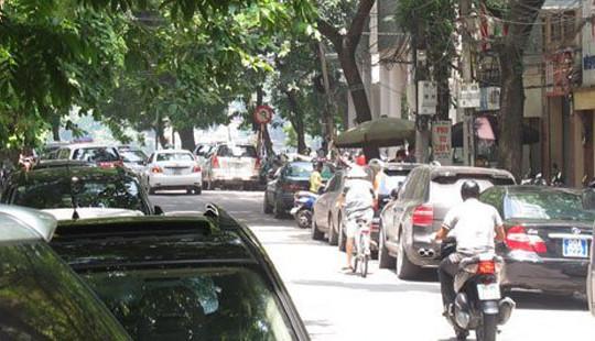 Hà Nội sắp có thêm tuyến phố đỗ xe theo ngày chẵn, lẻ
