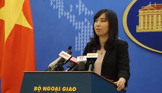 Người Phát ngôn Bộ Ngoại giao Việt Nam: Mọi hành vi khủng bố phải bị nghiêm trị