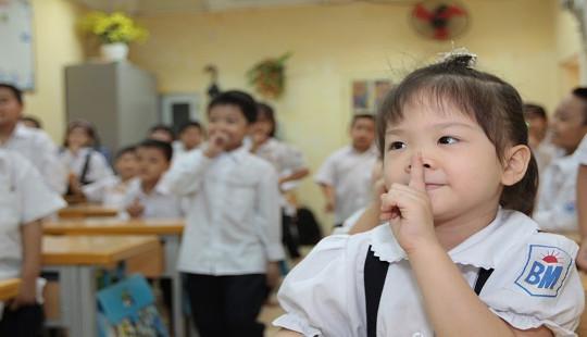 Hà Nội: Đến 8 giờ 30 phút có 9.300 hồ sơ tuyển sinh đăng ký trực tuyến vào lớp 1