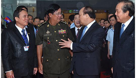 Hoạt động nổi bật của Thủ tướng Campuchia Hun Sen trong chuyến thăm Việt Nam