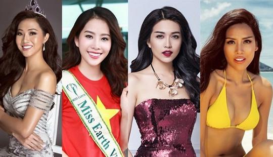 Người đẹp, người mẫu thi quốc tế làm thủ tục xin cấp phép qua mạng