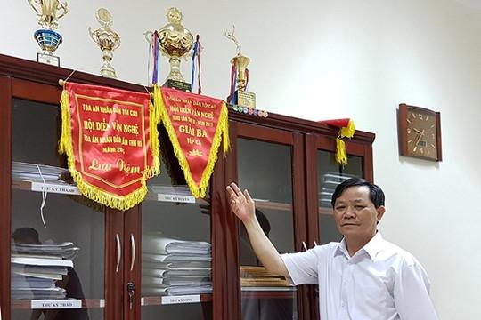Thẩm phán Dương Trọng Quang làm tốt công tác chuyên môn, sôi nổi công tác phong trào