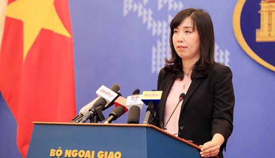 Bộ Ngoại giao thông tin về phiên tòa xét xử sơ thẩm Nguyễn Ngọc Như Quỳnh