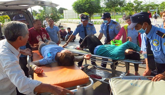 Vụ 600 công nhân ngộ độc ở An Giang: Lượng vi sinh trong thức ăn vượt ngưỡng