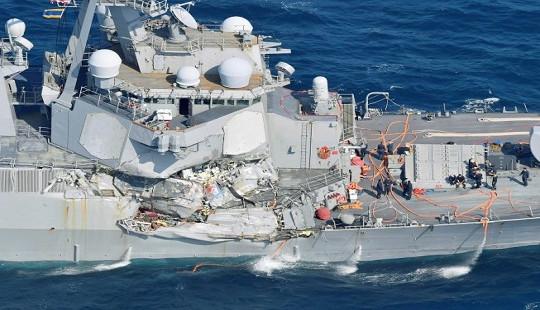 Mỹ không chịu hợp tác giúp Nhật điều tra vụ tàu USS Fitzgerald bị đâm