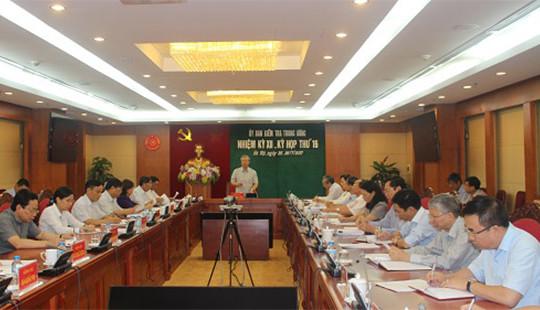 UBKT Trung ương nêu rõ vi phạm của các cá nhân thuộc Bộ Công an và Tập đoàn Hóa chất Việt Nam