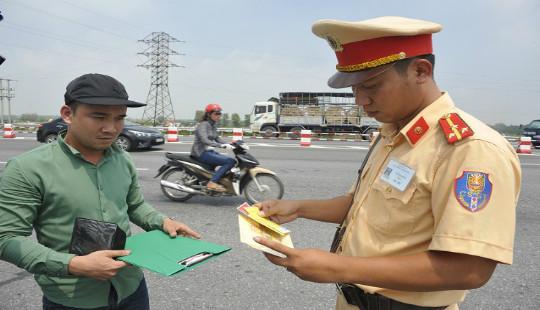 Cục CSGT: Không tăng mức xử phạt lĩnh vực giao thông từ 1/8
