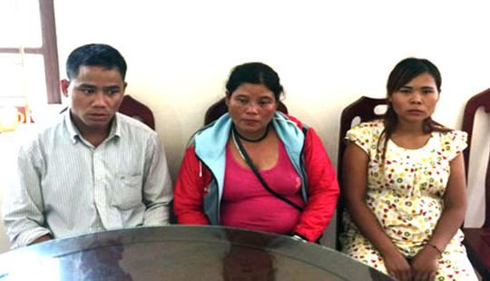 Khởi tố ba đối tượng đưa 2 bé gái sang Trung Quốc