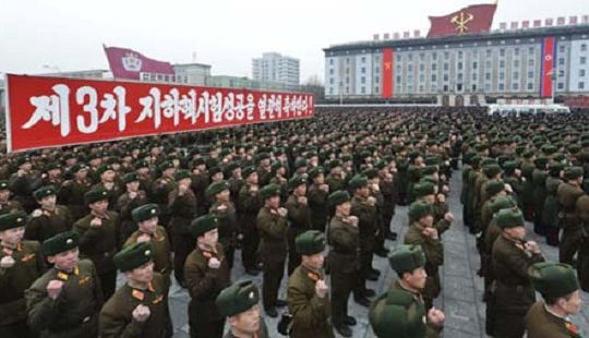 Hàng triệu người Triều Tiên xin nhập ngũ để đánh Mỹ