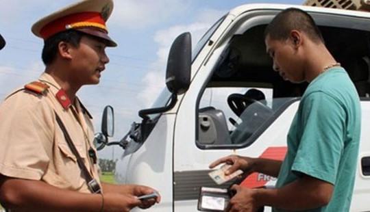 Được sử dụng bản sao giấy đăng ký xe khi tham gia giao thông
