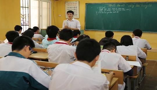 Sở GD-ĐT Hà Nội phấn đấu đến năm 2020 giảm 10% biên chế giáo viên