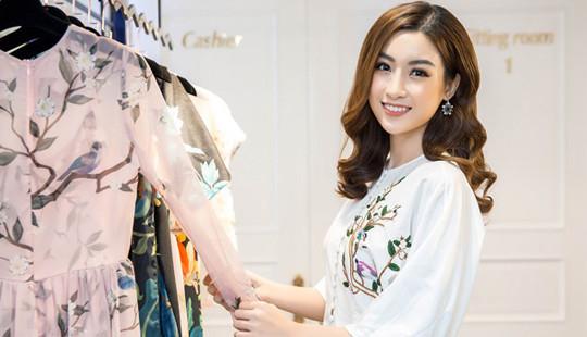 Hoa hậu Mỹ Linh lần đầu xuất hiện sau công bố thi Miss World 2017