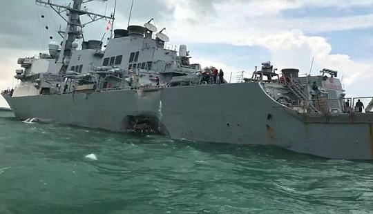 Lý do Mỹ bất ngờ cho ngừng mọi hoạt động của tất cả các hạm đội trên thế giới