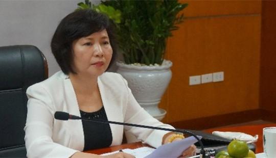 Bà Hồ Thị Kim Thoa nghỉ hưu từ ngày 1/9