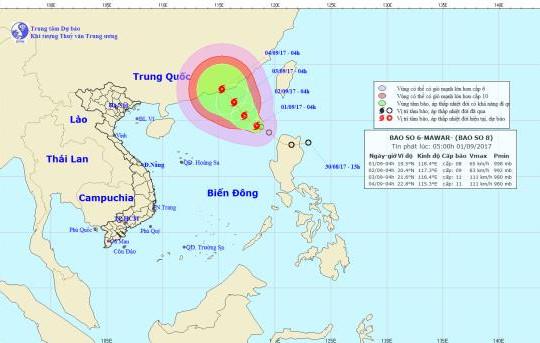 Áp thấp nhiệt đới mạnh lên thành bão và có khả năng mạnh thêm
