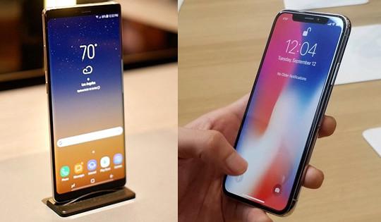 """""""Bom nhiệt hạch"""" Iphone X lên kệ, Samsung chọn kế sách gì?"""