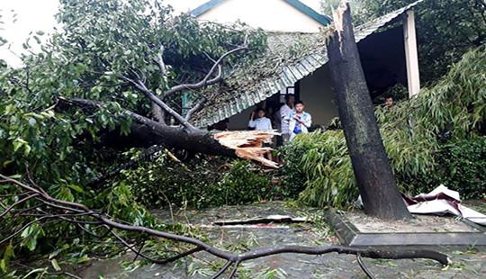 Bão số 10 gây thiệt hại nặng nề cho các tỉnh miền Trung