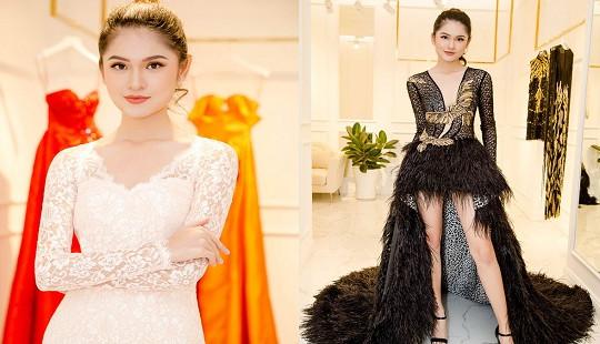 Thùy Dung mặc trang phục nào để thi Hoa hậu quốc tế 2017?