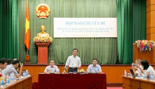 Sắp diễn ra Hội nghị Bộ trưởng Tài chính APEC 2017