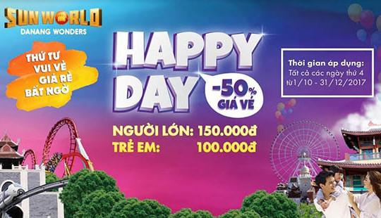 Ngày thứ 4, chơi thả ga tại Sun World Danang Wonders chỉ với 150 ngàn đồng