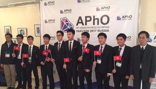 Olympic Vật lý châu Á năm 2018 sẽ được tổ chức tại Việt Nam