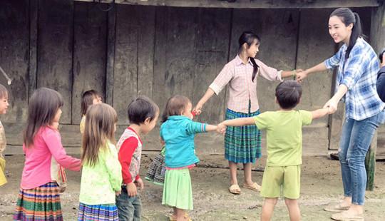 Sau mưa lũ, Mỹ Linh đã thấy tiếng cười trên bản Cu Vai
