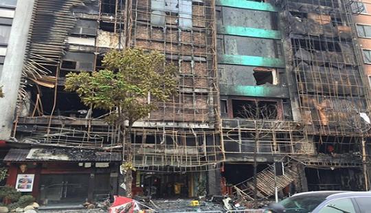Hoàn tất kết luận điều tra vụ cháy quán karaoke ở Cầu Giấy làm 13 người tử vong