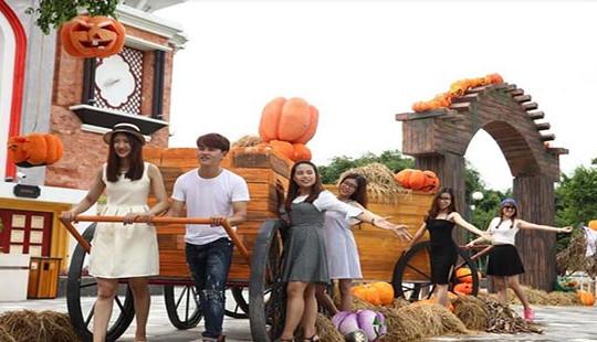 """Halloween ngập tràn cảm xúc với """"Vương quốc bí ngô"""" Sun World Danang Wonders"""