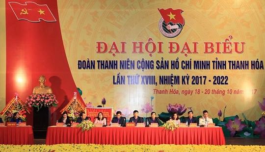 Đại hội Đoàn TNCS Hồ Chí Minh tỉnh Thanh Hóa lần thứ XVIII thành công tốt đẹp